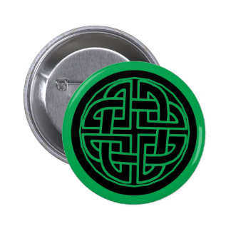 St Patrick s Day Button with Celtic Knot 2