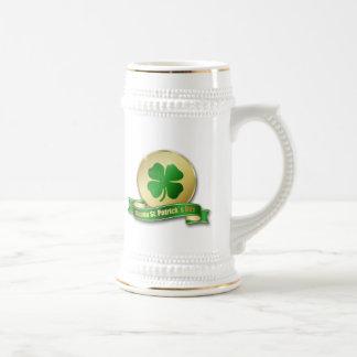 St. Patrick´s Day Coin - Beer Stein 18 Oz Beer Stein