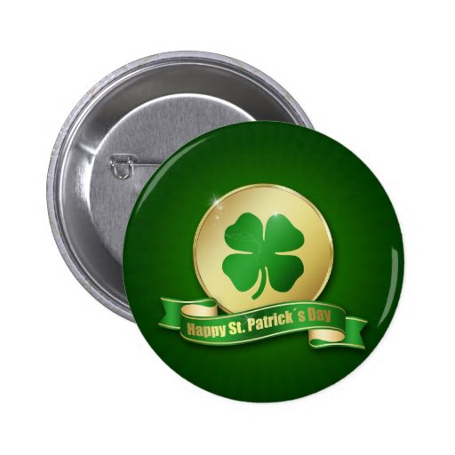St. Patrick´s Day Coin - Button