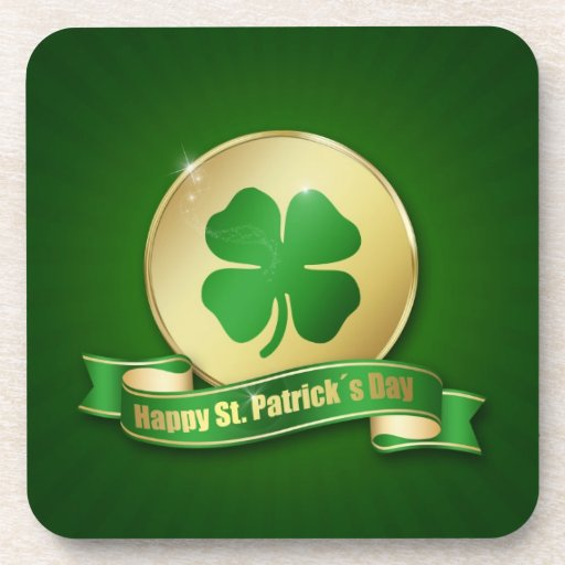 St. Patrick´s Day Coin - Cork Coaster