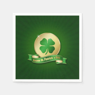 St. Patrick´s Day Coin - Paper Napkin