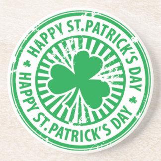St Patrick s Day Drink Coaster