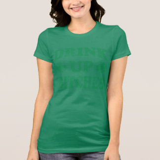 St Patrick s Day Drink Up Tee Shirt