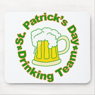 St Patrick s Day Drinking Team Mousepads