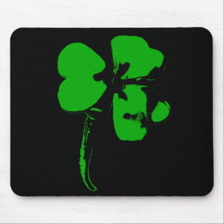 St. Patrick's Day Green Clover - Mousepad