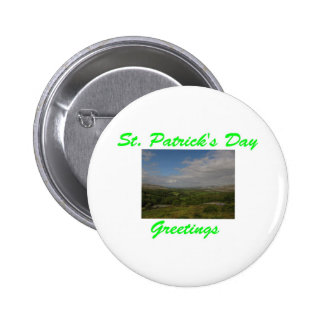 St Patrick s Day Greetings Button