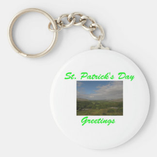 St Patrick s Day Greetings Keychains