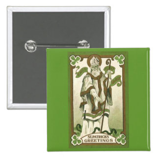 St Patrick s Day Greetings Pin