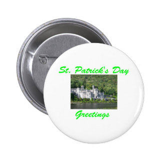 St Patrick s Day Greetings Pinback Button