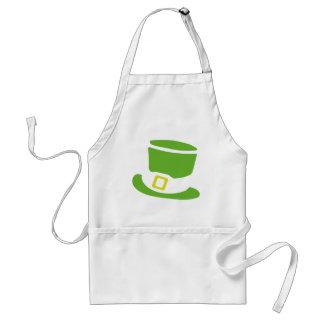 st. patrick´s day hat standard apron
