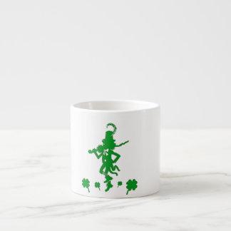 St. Patrick's Day Leprechaun Shamrock  Espresso Mu Espresso Mug