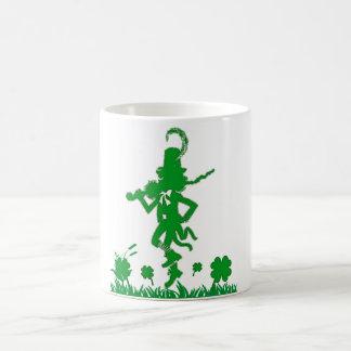 St. Patrick's Day Leprechaun Shamrock  Mug