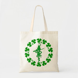 St. Patrick's Day Leprechaun Shamrock Ring  Bag