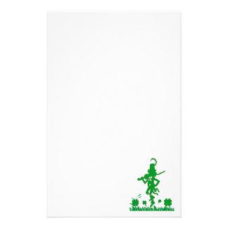 St. Patrick's Day Leprechaun Shamrock  Stationery