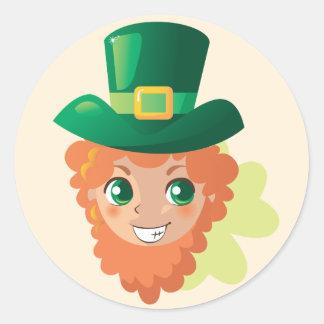 St Patrick s Day Leprechaun Stickers
