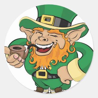 St Patrick s Day leprechaun Sticker