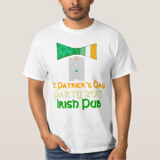 St. Patrick´s Day Party 2013 Irish Pub Bow Tie Tee