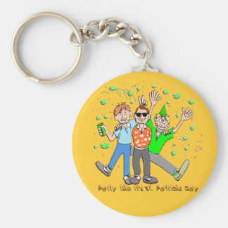 St Patrick s Day Party Key Chain