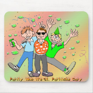 St Patrick s Day Party Mousepad
