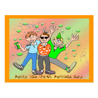 St Patrick s Day Party Post Card