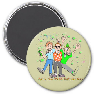St Patrick s Day Party Refrigerator Magnet