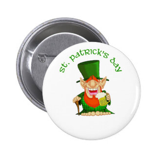 St Patrick s Day Patty O Party Buttons