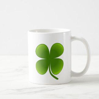 St. Patrick's Day - Shamrock Basic White Mug
