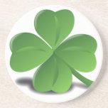 St. Patrick's Day Shamrock Clover Coaster