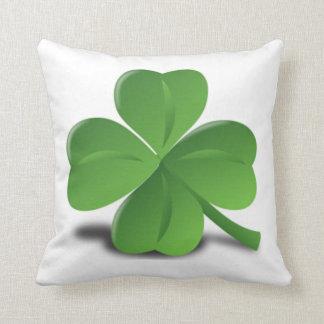 St. Patrick's Day Shamrock Clover Pillow