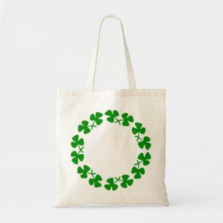 St. Patrick's Day Shamrock Clover Ring Bag