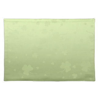 St. Patrick´s Day Shamrocks - Placemat