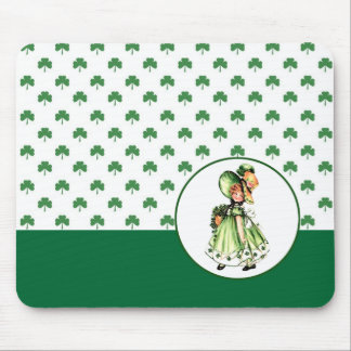 St. Patrick´s Day Vintage Style Gift  Mousepad