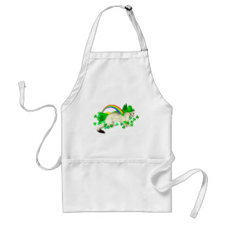 St Patrick s Day Weasel Apron