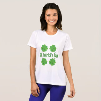 St. Patrick's Day with clover T-Shirt