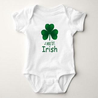 St Patrick's Shamrock Wee Bit Irish Infant Creeper