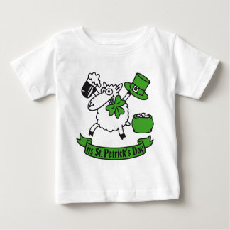 St Patrick sheep Baby T-Shirt