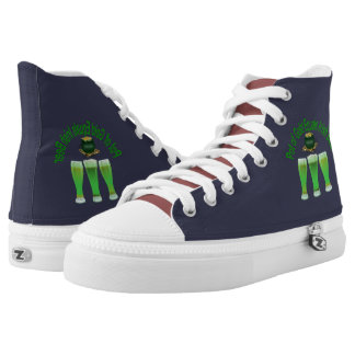 St. Patrick's Beer day Zipz High Top US-Men Shoe Printed Shoes