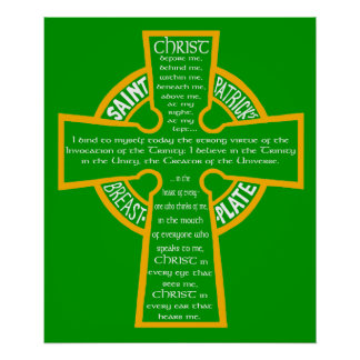 St. Patrick's Breastplate Poster