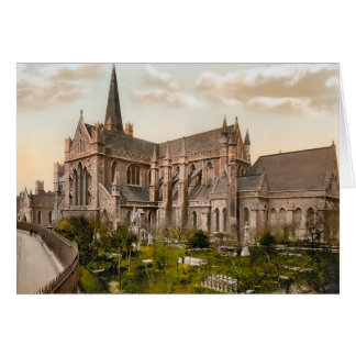 St Patrick's Cathedral Dublin Ireland Card