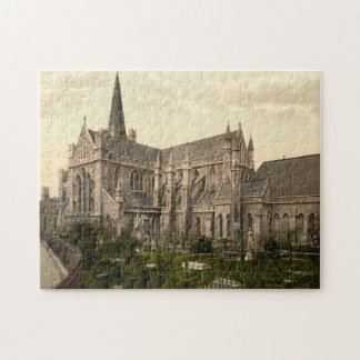 St Patrick's Cathedral Dublin Ireland Jigsaw Puzzle