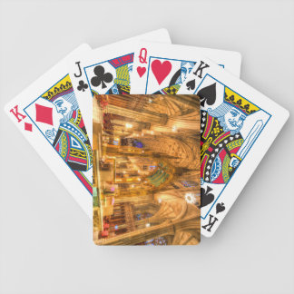 St Patrick's Cathedral Manhattan New York Bicycle Playing Cards