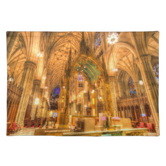 St Patrick's Cathedral Manhattan New York Placemat