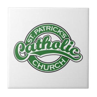 St. Patrick's Catholic Church Green Ceramic Tile