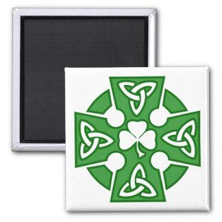 St Patrick's Celtic cross Fridge Magnet