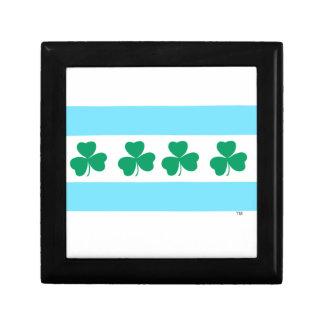 St Patrick's Chicago Dye the River Green Gift Box