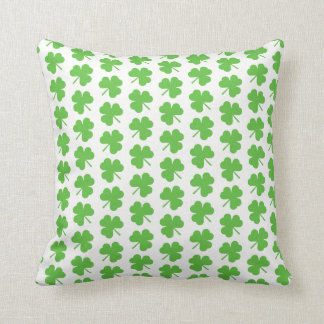 St. Patrick's Clover Pillow