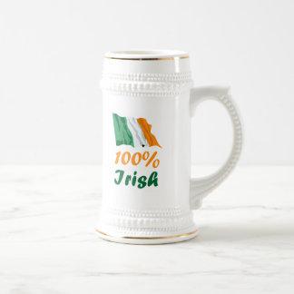 St. Patricks Day 100% Irish Coffee Mug
