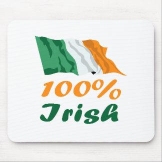 St. Patricks Day 100% Irish Mouse Pads
