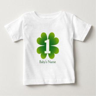 St. Patricks Day 1st Birthday Baby T-Shirt