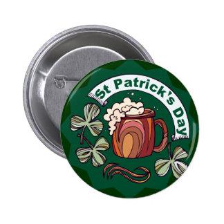 St. Patrick's Day 6 Cm Round Badge